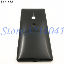Original New 5.7 inches For Sony Xperia XZ2 Glass Back Battery Cover Rear Door back case Housing Case Repair parts +Logo
