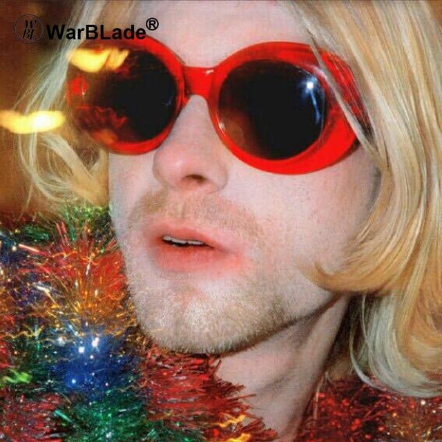 681f80ca73 2018 Classic Clout Goggle Kurt Cobain Glasses Oval Ladies Sunglasses  Vintage Retro Sun Glasses Women s UV400