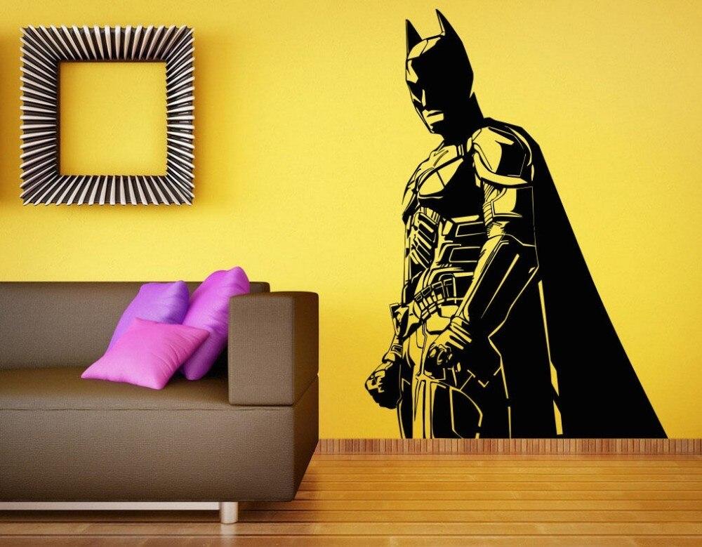 Aliexpresscom Buy Free Shipping Diy Vinyl Wall Sticker Batman - Superhero vinyl wall decals