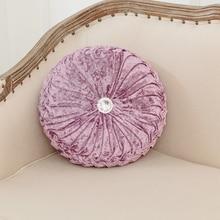 Retro Luxury Velvet Cushions Soft Smooth Filled Back Cushion High Quality