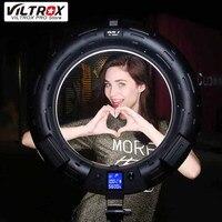 Viltrox VL 600T Беспроводной удаленного светодио дный кольцо света 3300 К ~ 5600 К для камеры съемки Studio YouTube видео фотографии Live лампа