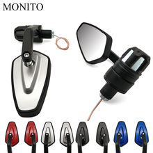 "7/8"" 22mm Motorcycle Side Mirror LED Handle Bar End Mirrors Turn Signal For KTM 65 85 105 125 144 150 200 SX/XC/EXC/XC-W/SX-F(China)"