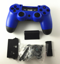 Blue Color Full Set Housing Shell Case Repair Parts Protector Cover Glossy surface for Sony PS4 Playstation 4 Controller Gamepad