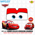 car accessories Cartoon Cars,  front window sunshade Foils Windshield Visor Cover UV Protect Car window Film sun shade  DC-53