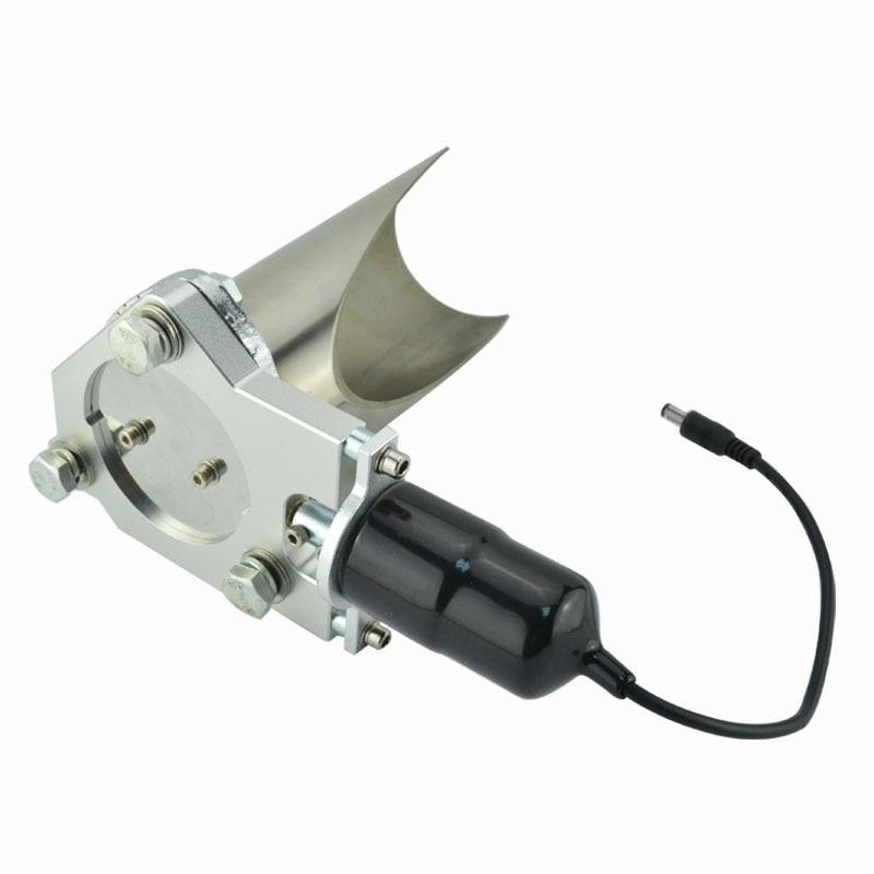 ESPEEDER 2,5 hüvelykes elektromos rozsdamentes kipufogó kivágás - Autóalkatrész - Fénykép 3