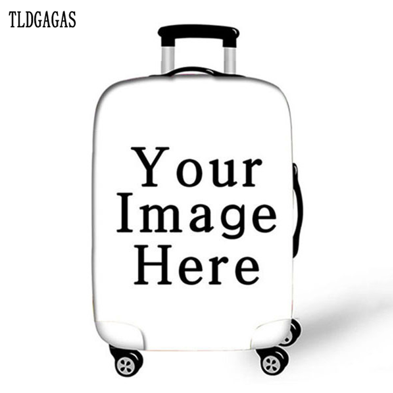 Custom Pattern 10 Sell Stretch Fabric Luggage Protective Cover Suit 18-32 Inch Trolley Suitcase Case Covers Travel Accessories