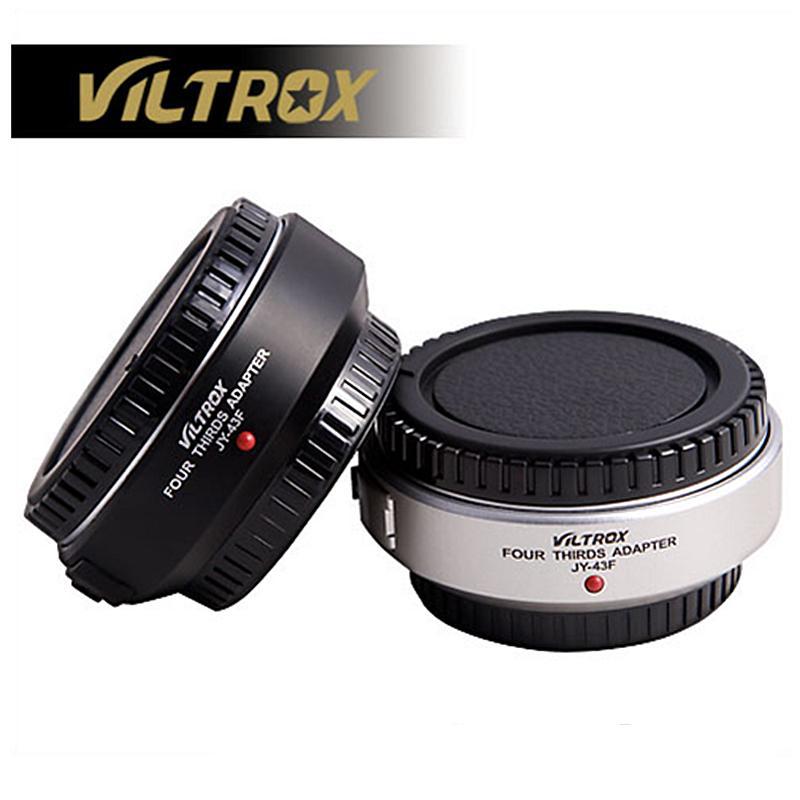 Viltrox auto focus M4/3 lente a micro 4/3 adaptador de montaje para Olympus Panasonic E-PL3 EP-3 E-PM1 E-M5 GF6 GH5 G3 DSLR