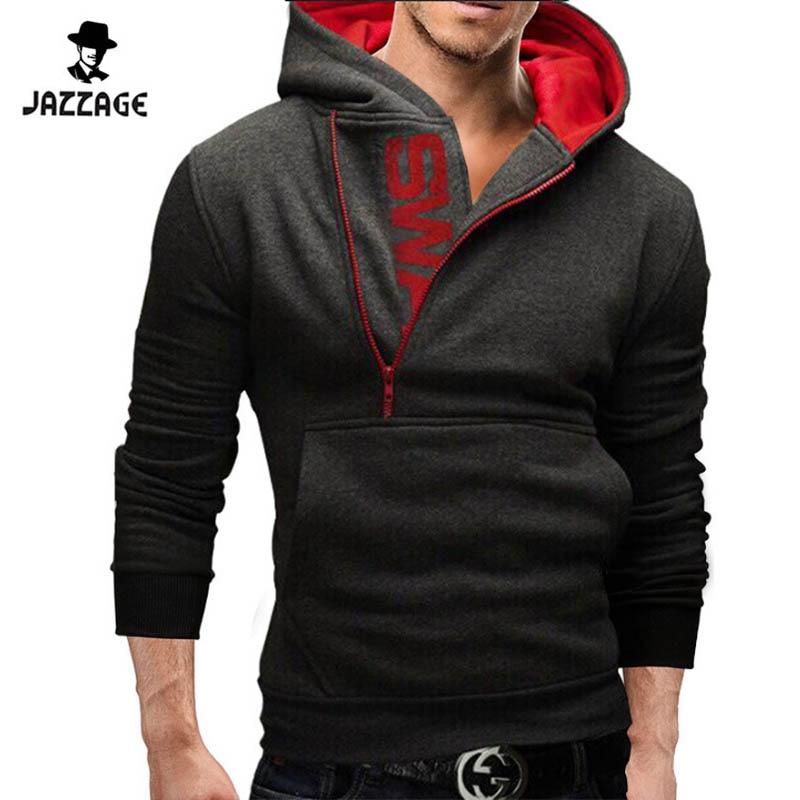 Hoodies Män 2018 Märke Sweatshirt Män Hoodies Fashion Solid Hoodie - Herrkläder - Foto 6