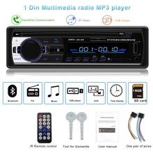 Autoradio JSD-520 auto Stereo 1 Din Car Radio 12v bluetooth V2 0 FM Aux Input Receiver Car Audio SD USB MP3 MMC WMA jsd 520 cheap Radio Tuner 18 3 x 8 x 5 8 cm 240*320 4 x 60W 2 5 87 5 - 108 0MHz kklusb 0 5kg English In-Dash Rock Classic Pops Jazz