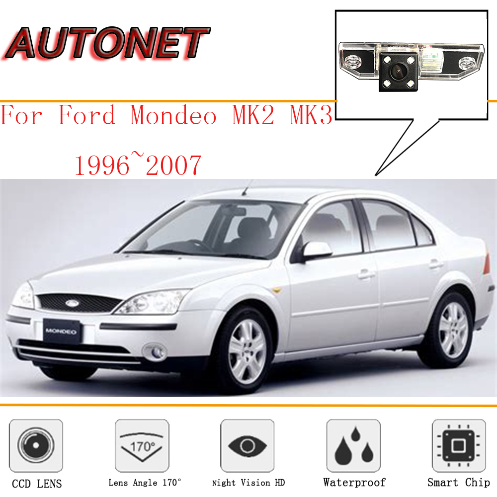 AUTONET Rear View Camera For Ford Mondeo MK2 MK3 1996~2007/CCD/Night Vision/Reverse Camera/Backup Camera/license Plate Camera