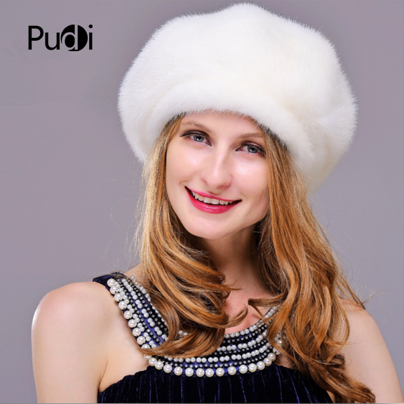 HM025 women's winter hats Real genuine mink fur hat winter women's warm caps whole piece mink fur hats hm017 real genuine mink fur hat winter hats for women whole piece mink fur hats winter cap