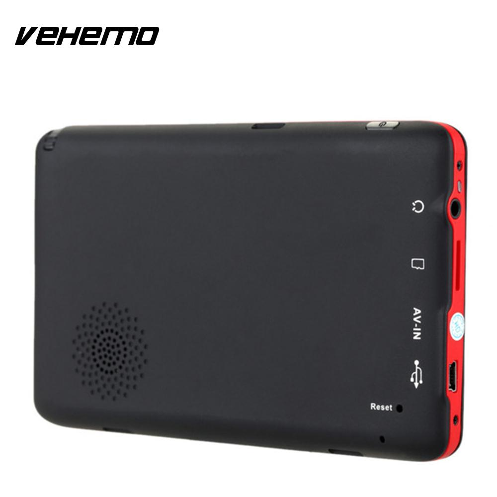 Vehemo 3D Live View Map MP4 Car Navigator Photography Vehicle GPS Navigator GPS Navigator Portable Multifunctional Recorder FM fm indiscreet 25 live