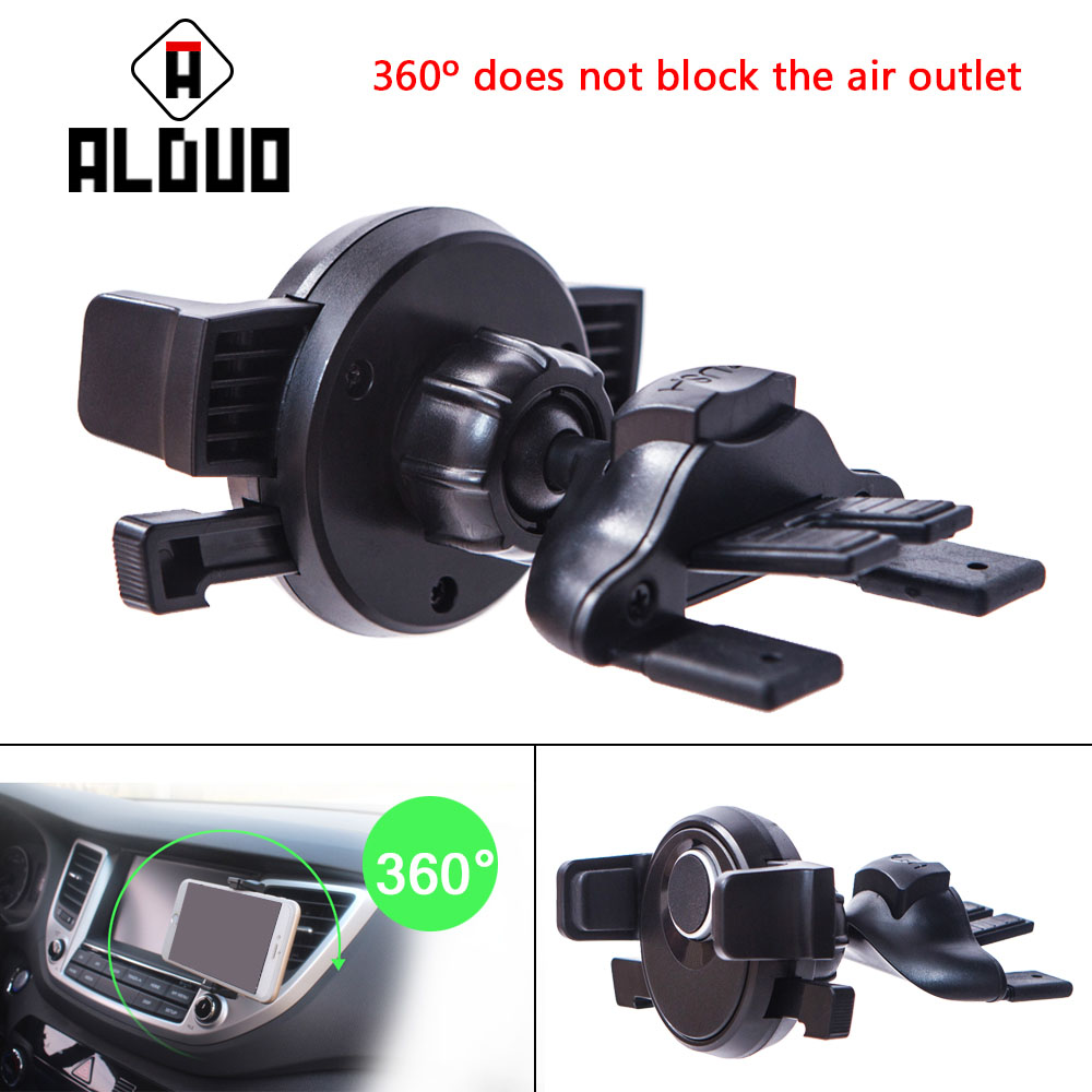 ALANGDUO magnetic Car phone <font><b>holder</b></font> support mobile cell phone for <font><b>iphone</b></font> 8 6s car air vent mount magnet <font><b>holder</b></font> stand for samsung