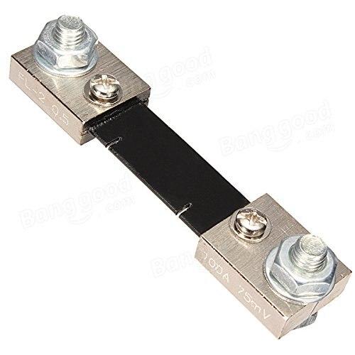 Флуоресцентный шунт постоянного тока 75 а 100 А 75 мВ для цифрового аналогового измерителя