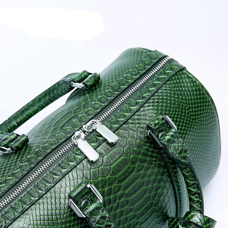 LUODUN 2018 Läder handväskor sommar liten väska multifunktionell - Handväskor - Foto 2