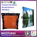 P5 led para gabinete de venda 640 * 640 mm led de alumínio gabinete para interior tela led de publicidade de produtos