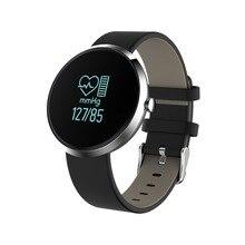 Smartch бренд моды Смарт браслеты V06 крови Давление монитор сердечного ритма спортивной деятельности часы жизни Водонепроницаемый