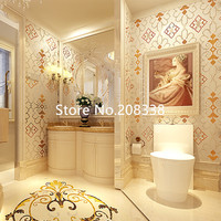 Glass Mosaic Pattern Antique Pattern For Bathroom Room Etc