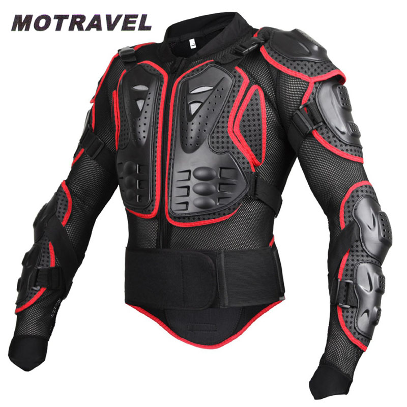 ФОТО Motorcycle Protection Jacket Professional Motocross Full Body Armor Jacket Spine Chest Protective Gear Motocross Racing Jackets