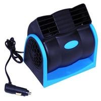 Creative Car Vehicle Truck Cooling Air Fan 12V Adjustable Silent Cooler Speed With Car Chagrer Plug