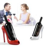 High Heel Shoe Wine Bottle Holder Shoes Design Silicone Wine Bottle Holder Rack Shelf For Home