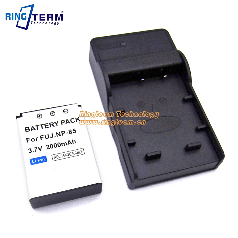 FNP 85 NP85 NP 85 Battery USB Charger 2 In 1 for Fujiflim font b Digital