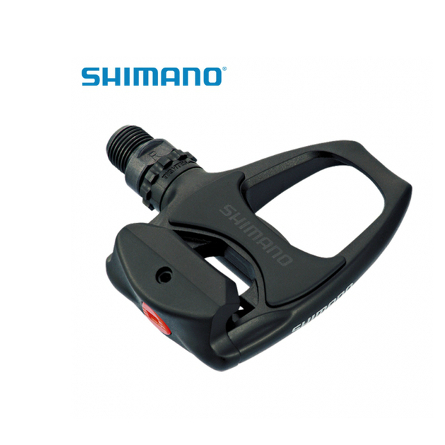 e2982a90af6 Shimano PD-R540 SPD-SL Road Bike Pedals Clipless SM-SH11 cleats  Black White Silver