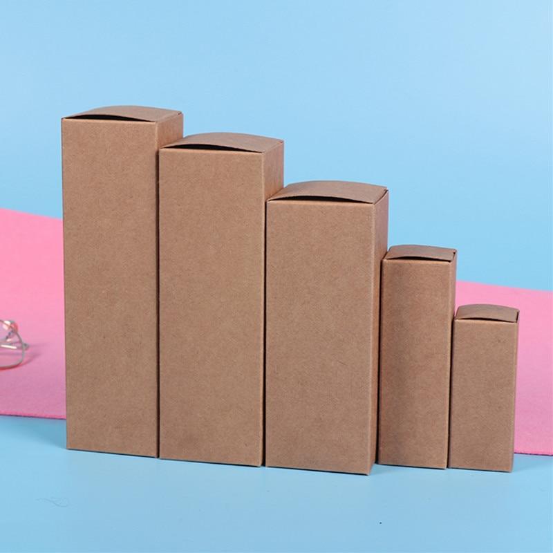Подгонянная 10 мл до 100 мл 18 мм резиновая головка капельница бутылка эфирного масла упаковочная коробка косметика крафт-картон белая коробка черная коробка