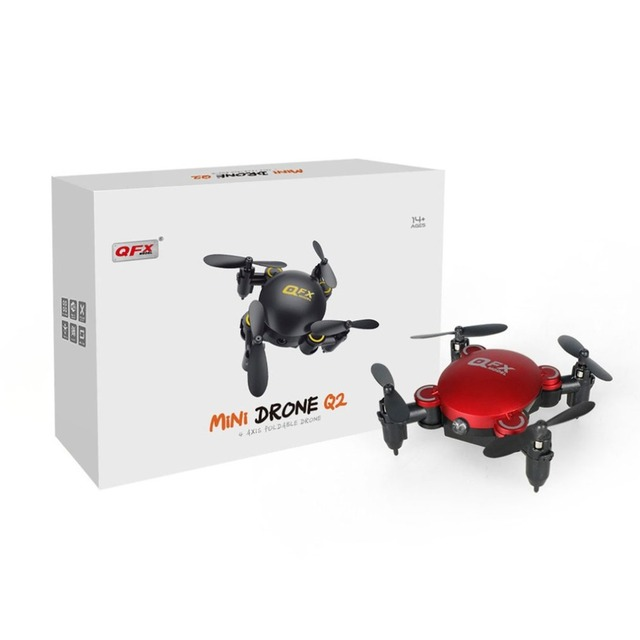 Global Drone Q2 Mini 4 Axis Foldable Selfie RC Helicopter Drones Toys Professional Nano Drone Standard Version Without Camera