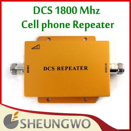 Nova marca Repetidor DCS 1800 Mhz Móvel Signal Booster Amplificador Long Range extender 500 Quadrado para casa + frete grátis!