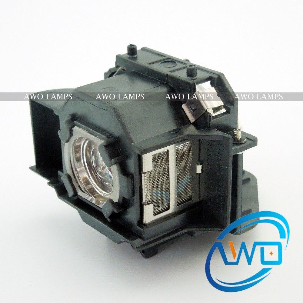 AWOs Ersatzprojektorlampe ELPLP33 / V13H010L33 für Projektor - Heim-Audio und Video - Foto 3