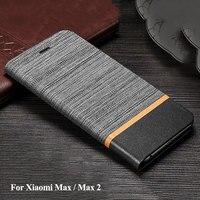 For Xiaomi Mi Max 2 Original Case PU Flip Leather Cover For Mi Max Coque For