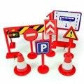 Дорожный Знак Игрушка 9 шт./компл. Упакованы Детей Раннего Образования знаки безопасности дорожного движения игрушка