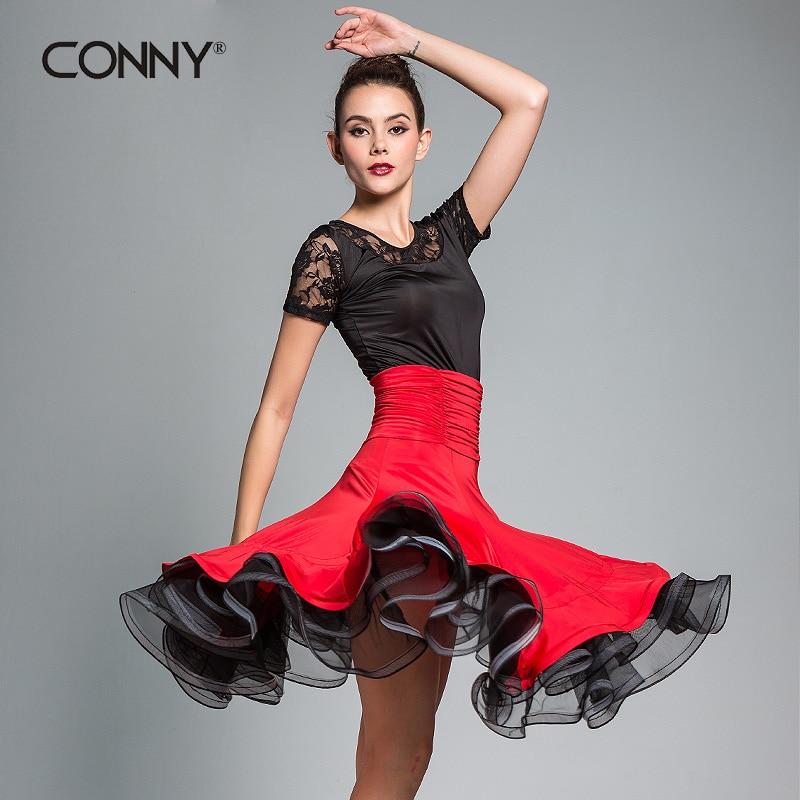 Dance Costumes for Latin Dress Tango Dress Special Offer Microfiber Women Latin sexy New Ballroom Dance Modern Costume