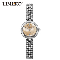 TIME100 Women's Bracelet Watches Stainless Steel Sunflower Dial Quartz Watches Ladies Wrist Watches For Women relogio feminino
