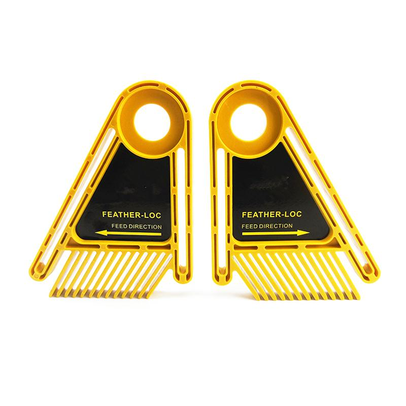 2Pcs/set Woodworking Upgraded Multi-purpose Double Feather Board For Router Table Saws Miter Gauge Slot Accurate Scale