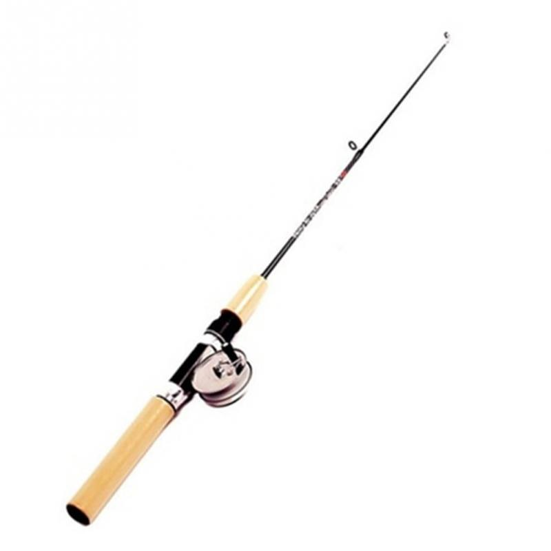New High Quality Carbon Foldable 0.75M Fly Fishing Rod Spinning Tackle Feeder Peche Supplies Fishing Equipment with Fishing reel surf fishing