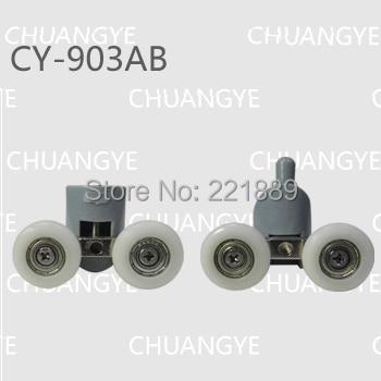 doppel twintop bottom duschtr rollenluferriemenscheibenrder ersatzteile 25mm durchmesser - Duschtur Rollen