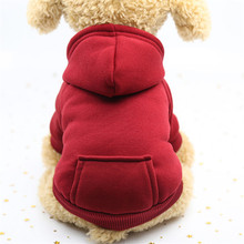 Dog Clothes Winter Soft Hoodie Chihuahua Warm Pet Clothing for Small Yorkie Coat