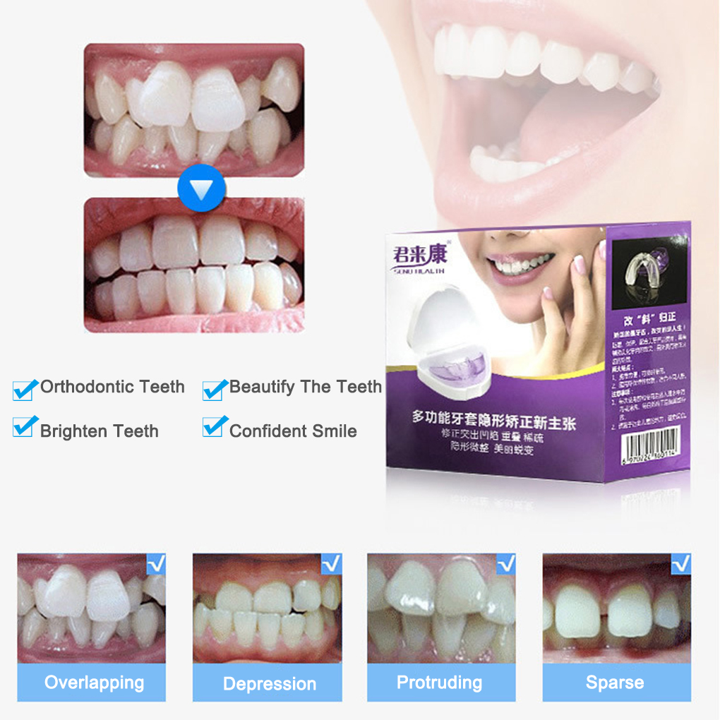 Braces Orthotics Adult Invisible Braces Breathing Teeth Molar Retainer Anti-wearing Teeth 3-stage Orthodontic Fixture
