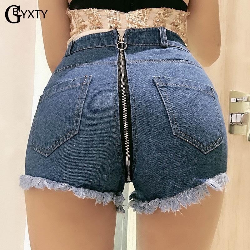 Trendy Summer High Waist Denim Shorts Slim Casual Short Pants Women Trousers US