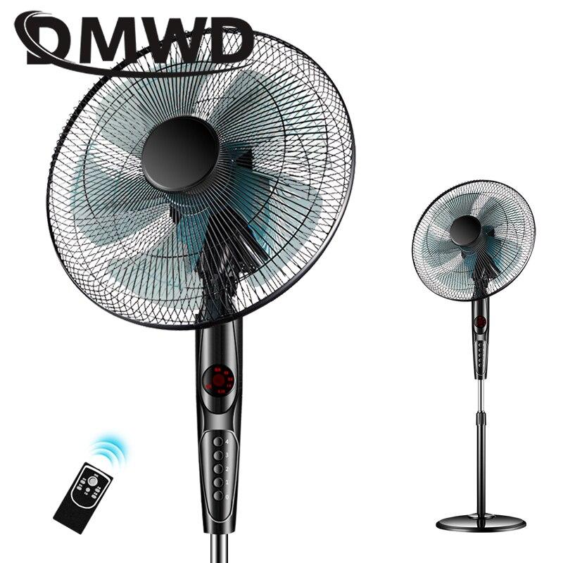 DMWD Elektrische Boden Stehen Lüfter Fern Air Gebläse Timer Stumm Haushalt Schlafsaal Timing sheke kopf Kühler Ventilator EU UNS-in Ventilatoren aus Haushaltsgeräte bei title=