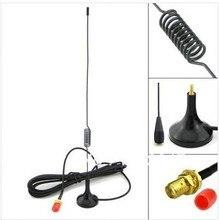 UT102 antena móvil coche 144/430MHz doble banda SMA hembra para Kenwood BaoFeng UV5R,BF888S,Wouxun,Puxing,TYT etc walkie talkie