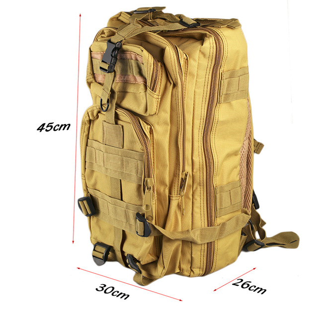 2L Outdoor Military Army Tactical Backpack Trekking Sport Travel Rucksacks Camping Hiking Trekking Camouflage Bag free shipping