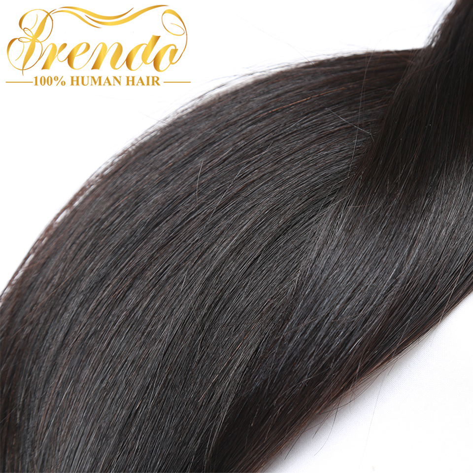 Dynamic Yelo Malaysian Straight Hair Weave Bundles 1 Pcs 8-26 Inch Non-remy Natural Color 100% Human Hair Extensions Free Shipping Hair Extensions & Wigs