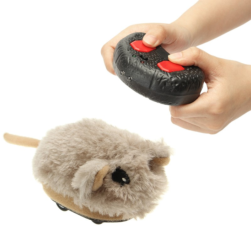 Infrared Remote control Electric Simulation Plush Hamster RC Toy For Kids Children birthday gift