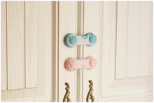 Cabinet Door Drawers Refrigerator Toilet Lengthened Bendy Safety Plastic Locks For Child Kid Baby Safety 5 Pcs