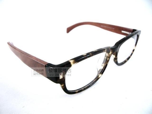 1139f28050 Tony morgan hechos a mano de madera gafas plate frame vintage a3203 ...