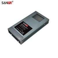 SANPU Rainproof Power Supply 24V 350W 15A Fanless Silent Constant Voltage DC24V LED Driver 220 240VAC to 24VDC Transformer IP63