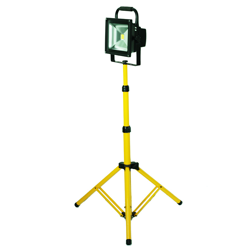 20W LED Flood Light Outdoor IP65 Waterproof LED  Work Light  Portable Light LED Emergency Stand Tripod Light
